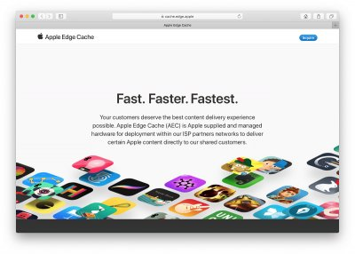 apple, apple 2020, apple news, apple edge cache, edge cache, edge cache technology