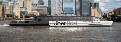 uber, uber 2020, uber boat, uber boat london, uber thames clippers, uber london